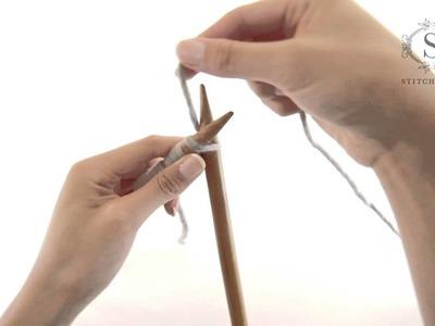 How to do Knit Stitch - a Stitch & Story tutorial