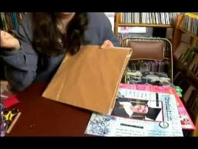 How to Do Scrapbooking with Non-Traditional Items : Non-Traditional Items for Scrapbook: Paper
