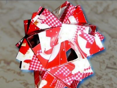 How to Fold: Hollow Sonobe Variation Kusudama