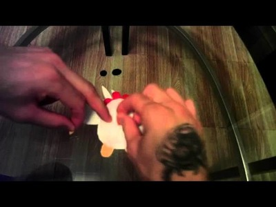 How to make a Chicken plush tutorial