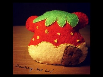 How to Make A Kawaii Rilakkuma Strawberry Plushie Tutorial