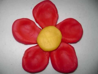 How to make a play-doh flower - EP