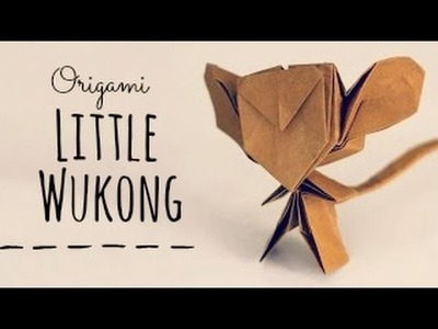 How to make an origami Little Wukong (Tran Trung Hieu)