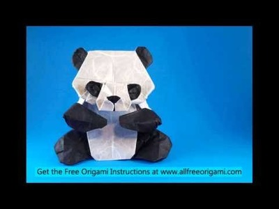 How to make an origami panda easy