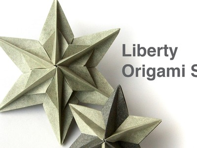 How to make Liberty Origami Star