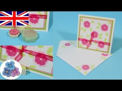 How to Make Stamps DIY *Mother's Day Cards* Mothers Day Cards Greetings Card Making Mathie
