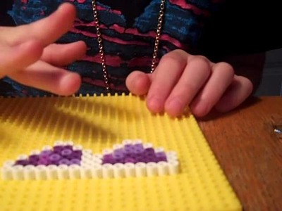 How to make  sunglasses out of perler beads