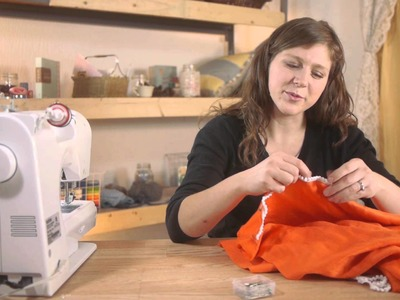 How to Sew Trims on Scarves : Sewing Crafts & More