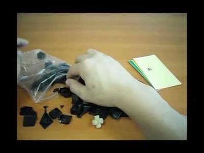 Lightake:3x3x3 DaYan GuHong Magic Cube DIY Kit Black