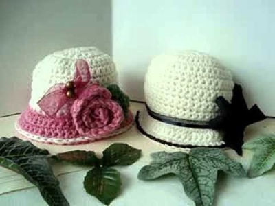 LINK TO CARLIE PATTERN # 121, crochet hat pattern, how to diy, baby hat