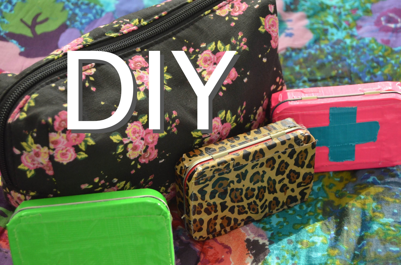 Locker Essentials Bag + DIY Emergency Kit