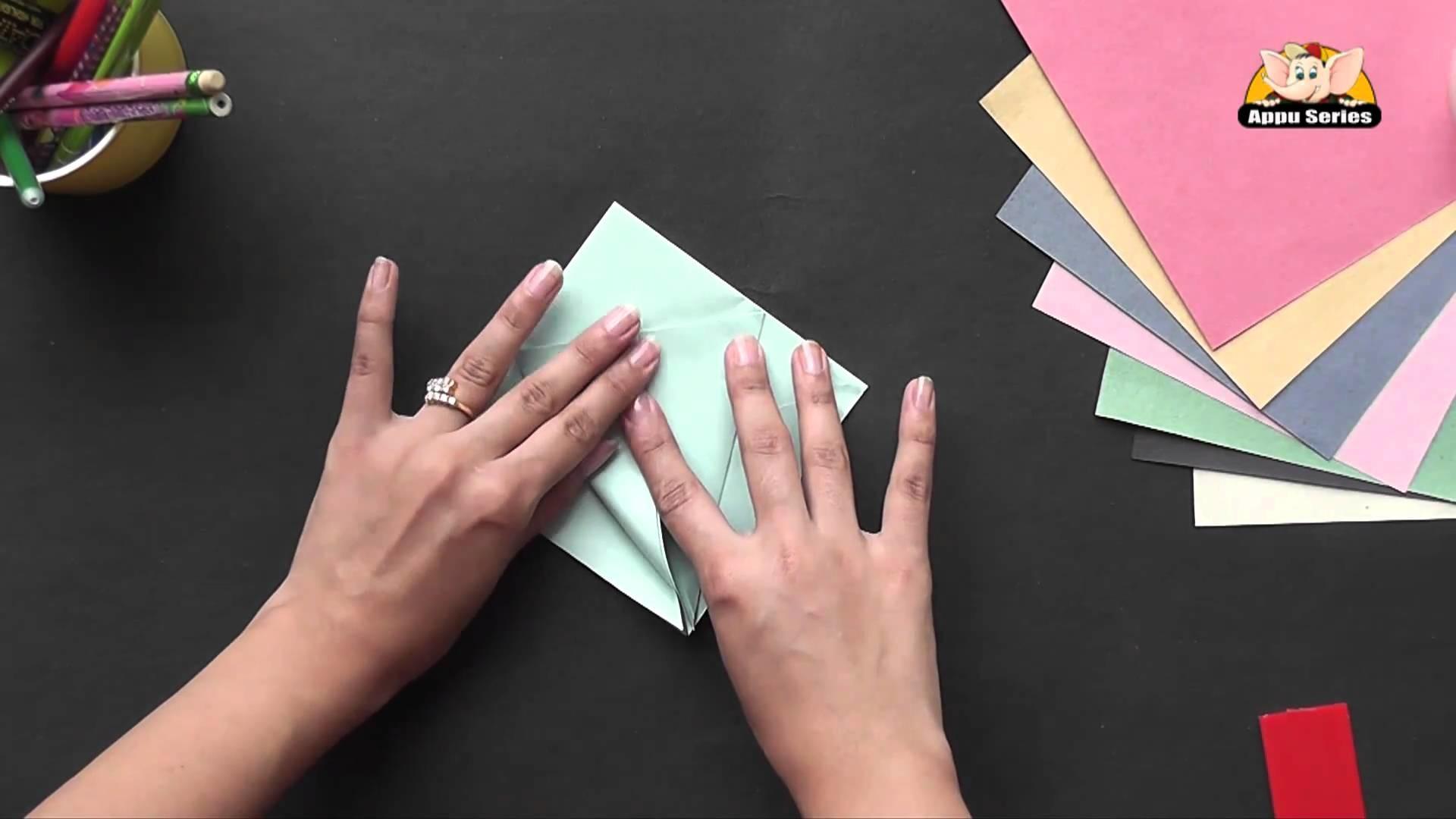 Make a Star Shaped Box - Origami in Hindi
