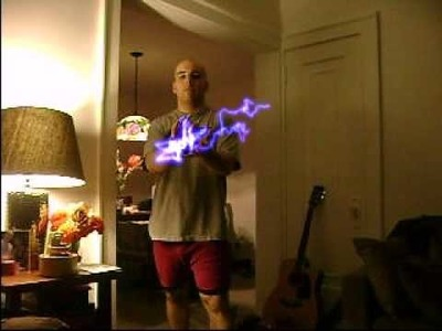 Me Bored= shooting electricity out of my hands