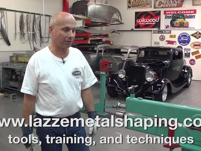 Metal Shaping with Lazze: Bead Roller Power and Technique