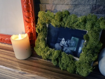 "Mr. Kate DIY ""Living"" Moss Picture Frame"