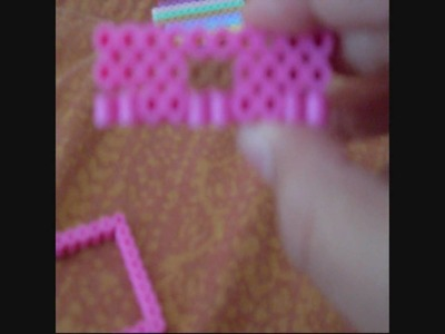 Perler beads:making a dresser