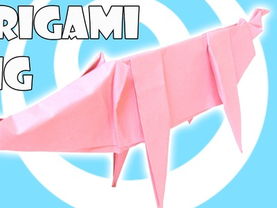 Printing Paper Origami Pig Tutorial (Origamite)