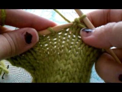 Removing a Bind Off