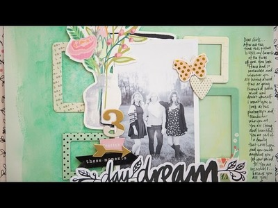 Scrapbooking Ideas: Day Dream
