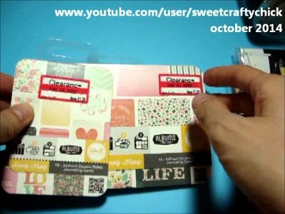 Target Dollar Bin Haul & Review of American Crafts Permanent Chalk Markers - October 2014
