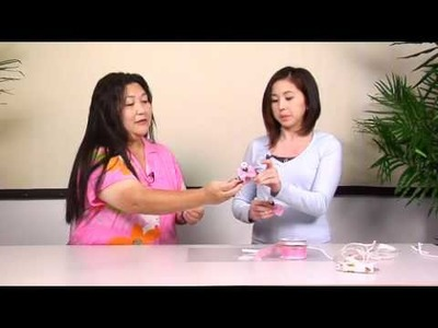 The Joy of Crafting 177.2 - Spring Ribbon Angel Favor