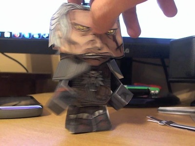 The witcher 2 papercraft