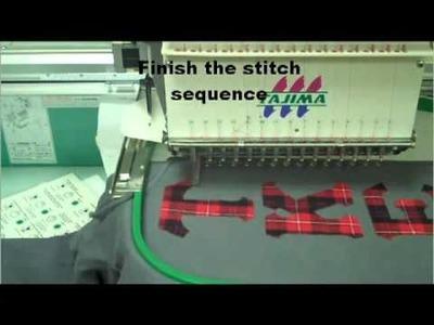 TKE Sew Out Using Boxer Craft Plaid & Twill Stitch Pro Plus