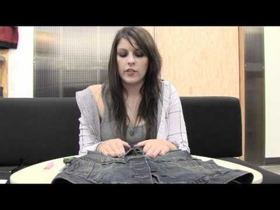 Vans Girls DIY: Denim Studded Vest