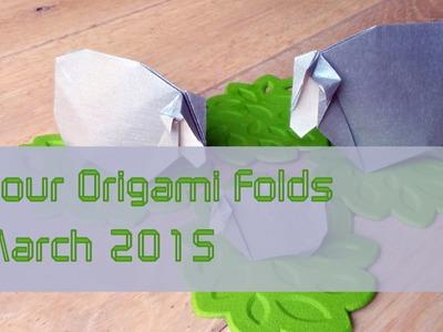 "Your Origami Folds March 2015: ""Sheep"" by Román Díaz"