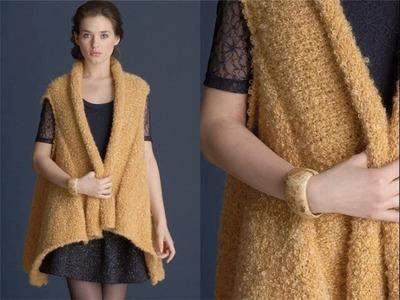 #16 Boucle Vest, Vogue Knitting Early Fall 2011