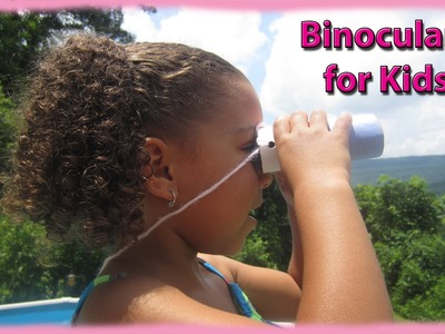 An Easy Craft For Young Kids - Binoculars