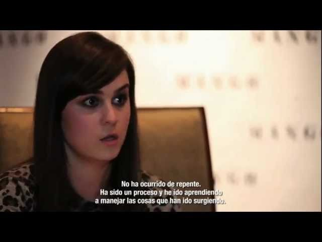 Andy Torres interview as MANGO'S FW2011 IT Girl