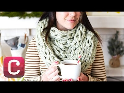 Arm Knit a Cowl with Anne Weil