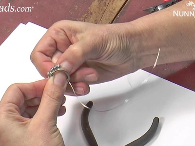 Artbeads Mini Tutorial - Wire-Wrapped Hammered Rings with Becky Nunn
