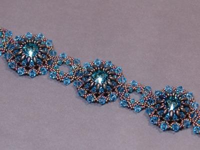 Beading Tutorial - Lotus Flower Bracelet