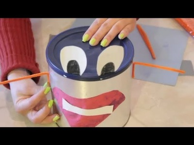Coffee Can Character School Craft : Arts & Crafts