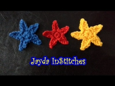 Crochet Along Mini Star Pattern Tutorial