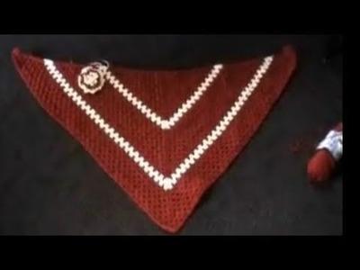 Crochet Shawl Tutorial Part 1 of 2