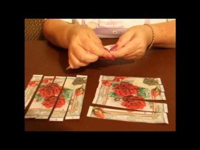 CUP TV Episode 17 - Ann-marie Vaux introduces Paper Weaving to Craftsuprint
