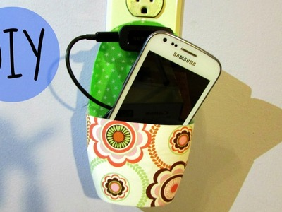 DIY: Cell phone holder