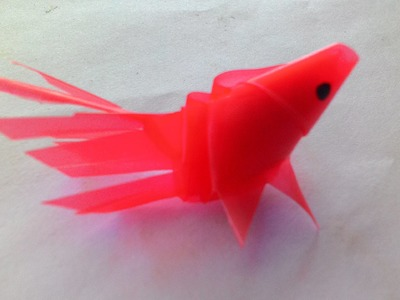 DIY crafts-how to make handicrafts from straw forming fish