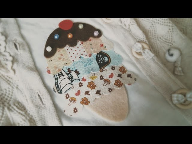 DIY Fashion: 5 Minute Ice Cream T-shirt Tutorial (Upcycle Old Tees)