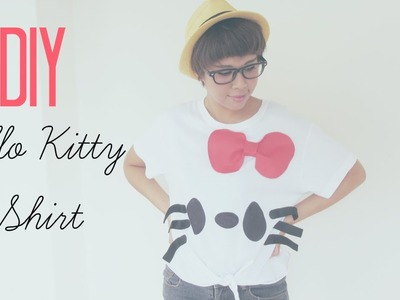 DIY Fashion : Sharpie Hello Kitty T-Shirt Tutorial