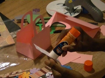DIY Gift Bags & Boxes From Cardstock Paper