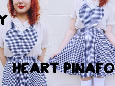 DIY Heart Pinafore