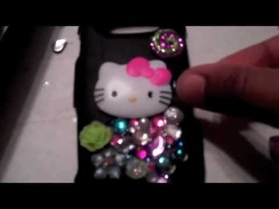 DIY: Hello Kitty Deco Bling Phone Case