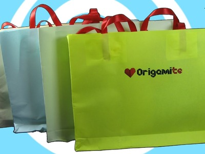 DIY: How to Make a Paper Gift Bags with Own Logo