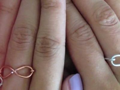 DIY Infinity rings