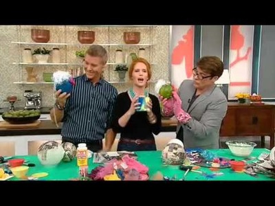 DIY Paper People on the S+C Show