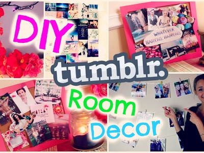 DIY ROOM DECOR ♡ tumblr inspired! EASY & CHEAP